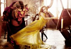 Beauty and the beast with E. Watson