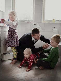 Johan Ekengård, 38, product developer at Sandvik | This Is What It Looks Like When Men Are Allowed To Take 480 Days Of Paternity Leave