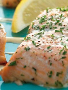 Chilled Salmon with Dijon Dipping Sauce