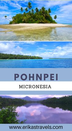 Traveling to the Pacific? Pohnpei Micronesia is one of the most beautiful islands in the Pacific Ocean. It is a lush island surrounded by mangrove forests, beautiful reef, and idyllic atolls. Hike Sokeh's Ridge, Visit the Nan Madol Ruins, take a day trip to And Atoll, and more! Islands In The Pacific, Pacific Ocean, Travel Guides, Travel Tips, Mangrove Forest, Emerald Isle, Sea And Ocean, Ultimate Travel, Beautiful Islands