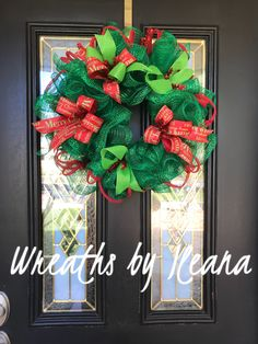 Merry wreath https://www.facebook.com/pages/Wreaths-by-Ileana/690079201043178