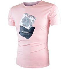Short Sleeve Lemon Graphic T Shirt (37 BAM) ❤ liked on Polyvore featuring men's fashion, men's clothing, men's shirts, men's t-shirts, mens graphic t shirts, mens short sleeve shirts and mens short sleeve t shirts