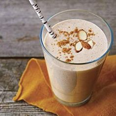 Almond Butter and Banana Protein Smoothie