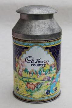 Cadbury Chocolates milk churn tin