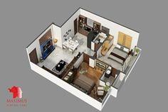 3D Floor Plan Rendering Studio offer 3D floor plan, Interactive 3D Floor Plan, 3D Wall Cut Plan, 3D Site Plan 3D Virtual Floor Plan and 3D Sections Plan and 3d Floor Plan Rendering. We can deliver it with landscape and Wall Cut view as well.