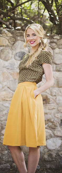 Royally Pleated Skirt *FINAL SALE* [MFS3123] - $9.99 : Mikarose Boutique, Reinventing Modesty