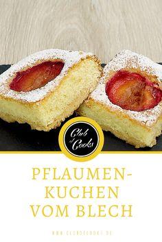 Mit Ende des Sommers beginnt auch die Pflaumenzeit. Sie schmecken köstlich als Kompott, frisch vom Baum oder eben auch im Kuchen. Dieser Pflaumenkuchen wird mit Vanille verfeinert.