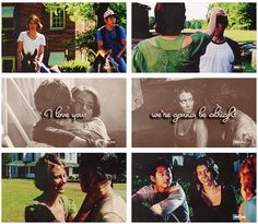 Maggie & Glenn, The Walking Dead http://pinterest.com/yankeelisa/the-walking-dead/