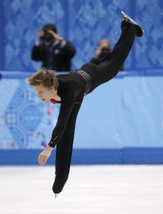 DAY 8:  DAY 8:  Tomas Verner of the Czech Republic competes during the Figure Skating Men's Free Skate http://sports.yahoo.com/olympics