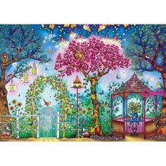 Buffalo Games Featuring The Work Of Johanna Basford Songbird Garden Jigsaw Puzzle 500 Piece