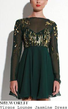df9a5326e05 Virgos Lounge Jasmine Embellished Fit Flare Skater Swing Party Dress 8 36  New  VirgosLounge