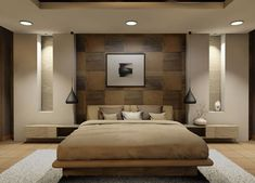 Comfy Relaxing Bedroom Design Ideas Luxury Home - Page 22 of 25 Rustic Master Bedroom Design, Bedroom False Ceiling Design, Luxury Bedroom Design, Bedroom Closet Design, Modern Master Bedroom, Bedroom Furniture Design, Bedroom Ceiling, Home Bedroom, Bedroom Decor