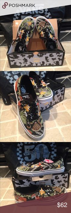 Disney Vans Jungle Book shoes NEW New with box. Box is a bit thrashed.  These could be collectors sometime f20c17121fa