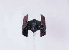 XWing Minis TIE Advanced Repaint Painted Darth Vader's Vader TIE Mini