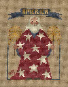 Patriotic Santa #1