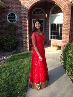When in doubt - wear RED Wear Red, Indian Attire, Ethnic, Beautiful Women, Couture, Studio, Formal Dresses, Hot, How To Wear