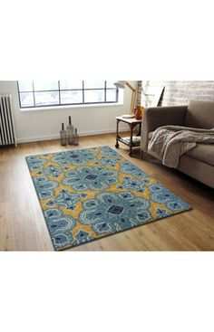 nuLOOM Hand Hooked Dolores Area Rug | Outdoor Rugs