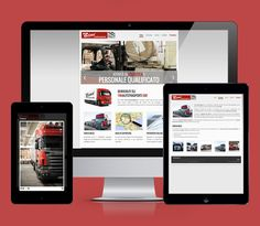 Tini Autotrasporti #website #web #webdesign #webdevelopment #layout #responsive #html #seo #truck #mrapps