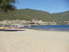 San Martin de los Andes. Playa Lago Lacar. Febrero 2016