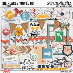Places you'll go elements by Amy Wolff Designs http://scrapstacks.com/shop/Places-You-ll-Go-Elements.html