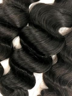 eHair Outlet offers 100% Virgin Human Hair Extensions. Our 3 Bundle Set Malaysian Loose Wave Hair Extensions not only is a great value, it also has a silky texture that brings out your feature giving you the gorgeous look you look for. It holds curls beautifully, yet has the ability to be worn straight. Waves become even more defined when wet. This hair is a great change if you are used to deep wave or sea wave hair extensions.  This 8A Malaysian 3 Bundle Set Loose Wave Virgin Hair…