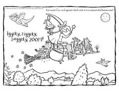 Room on the Broom Here is a fun coloring sheet for our little Room on the Broom fans!