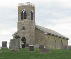 Old Stone Church (Christ Church), Peoria County, IL.  Photo Cindy Ford