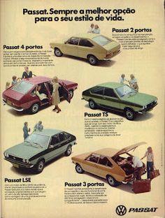PROPAGANDAS ANTIGAS CARROS NACIONAIS: PASSAT Vintage Ads, Vintage Posters, Volkswagen, Old Scool, Dodge Charger Rt, Top Cars, Vw Passat, Cars And Motorcycles, Classic Cars