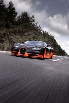 bugatti veyron  the fastest car