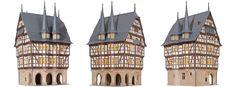 Kibri 38900 Radnice Alsfeld kit H0 | Kupte online na Model Hartle