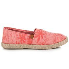 Letné slipony T016-20P Espadrilles, Toms, Flats, Sneakers, Fashion, Espadrilles Outfit, Toe Shoes, Tennis, Moda