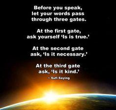 Three gates
