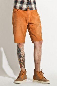 insight - men's sozz raw cord shorts (turmeric)    http://www.80spurple.com/shop/product/141906/5250/insight-men-s-sozz-raw-cord-shorts-turmeric