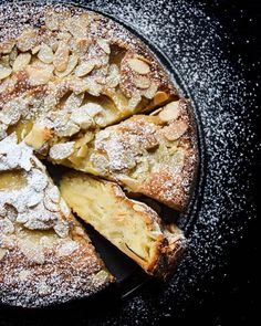 Fragrant almond cake