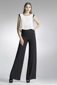 elegant black and white jumpsuit www.chrisper.gr find it online