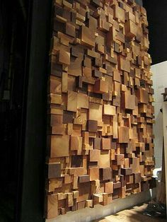 65 Awesome Wooden Wall Decor Design Ideas - BrowsyouRoom With empty wall space, you can get creative, and wood wall decor is the perfect way to let your imagination wander! Wall Decor Design, Wooden Wall Decor, Wooden Walls, Art Decor, Wall Wood, Wall Décor, Vancouver Architecture, 3d Foto, Garden Architecture