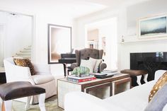 A pair of entrepreneurs' Brentwood, CA home designed by Homepolish | Rue