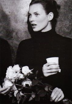 Kate Moss by Bruce Weber, Vogue Italia October 1996