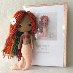 Nerissa - Mermaid Girl Pattern Kit by Gingermelon on Etsy
