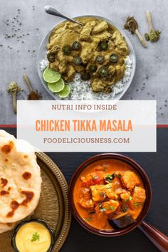 Looking for some Chicken Recipe, Curry Sauce, Tikka Masala ? I've got a collection here of the best Chicken Tikka Masala - Side Dishes For Chicken, Easy Chicken Dinner Recipes, Healthy Dinner Recipes, Whole30 Recipes, Diet Recipes, Healthy Food, Cooking Recipes, Yummy Food, Herb Roasted Chicken