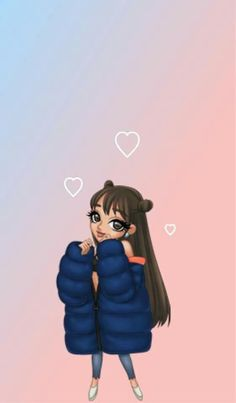 tbh arimoji's are the cutest things i have ever seen Ariana Grande Anime, Ariana Grande Tumblr, Ariana Grande Drawings, Cute Wallpaper Backgrounds, Cartoon Wallpaper, Disney Wallpaper, Cute Wallpapers, Iphone Wallpaper, Ariana Grande Background
