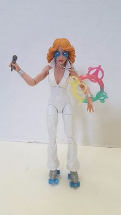 "MARVEL LEGENDS SERIES~X-MEN WARLOCK~2017~Dazzler 6"" FIGURE~LOOSE no BAF #Hasbro #xmen #shatterstar #warlock #marvel #marvellegends"