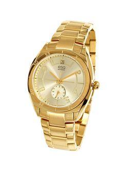 On ideeli: ESQ BY MOVADO Ladies Tonneau Stainless Steel Watch