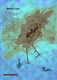 RPG Map done by Rudy Boe