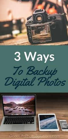 When was the last time you backed your digital pictures? Here are 3 ways to help you start protecting your treasured photos today. #bettersafethansorry