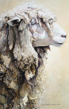 Ann Balch, not sure why i like this one so much. love the color and lines, plus who doesnt like sheep