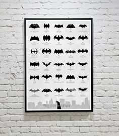 The Evolution Of The Batman Logo, From 1940 To Today