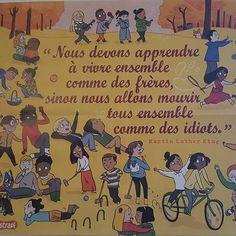 Grâce @bayardjeunesse une nouvelle affiche à pris place dans notre salle de classe #bayard #astrapi #martinlutherking