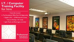 I.T. / Computer Training venue for hire – KZN Mt Edgecombe