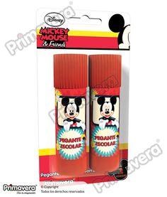 Pegante En Barra X 2 Mickey Mouse http://escritura.papelesprimavera.com/product/pegante-en-barra-x-2-mickey-mouse-primavera/